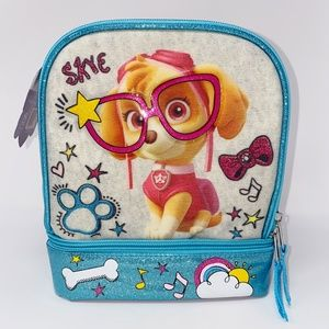 Paw Patrol Skye Lunch Box Kit Two Compartments